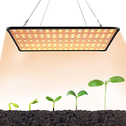 LED crece la luz de las plantas de interior iluminación Sunlike espectro completo creciente lámpara para hidropónicos invernadero plántulas floración fructificación