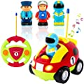 Liberty Imports My First Cartoon RC Race Car Radio Remote Control Toy for Baby, Toddlers, Children from Liberty Imports