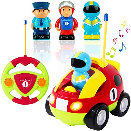 Liberty Imports My First Cartoon RC Race Car Radio Remote Control Toy...