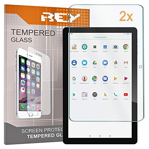 2X Protector de Pantalla para CHUWI Hi10 Pro 10.1' / Hi10 Air/Hi 10 Pro, Cristal Vidrio Templado Premium, Táblet