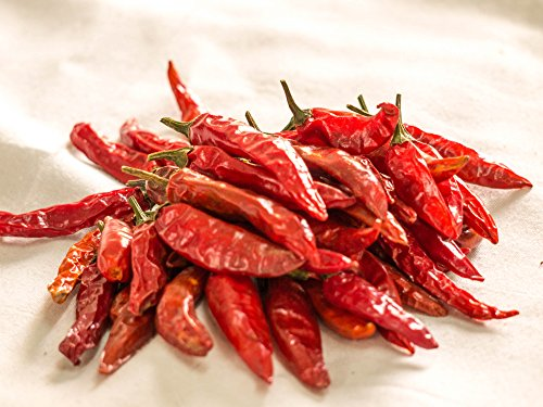NOBILITY Dry Chillies 100g / 352 Ounce  Dried Red Chili Pepper  Indian Extra Hot Red Chilli  A