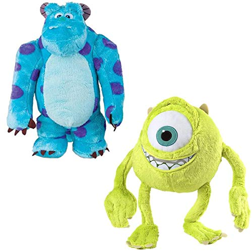 Conjunto Pelúcia Infantil Monstros S.A Mike e Sulley 30 cm c/Som - Multikids