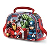 Karactermania The Avengers Force-3D Frühstückstasche Bolsa Escolar 26 Centimeters Multicolor (Multicolour)