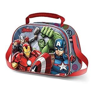Karactermania The Avengers Force-3D Frühstückstasche Bolsa Escolar 26 Centimeters Multicolor (Multicolour)