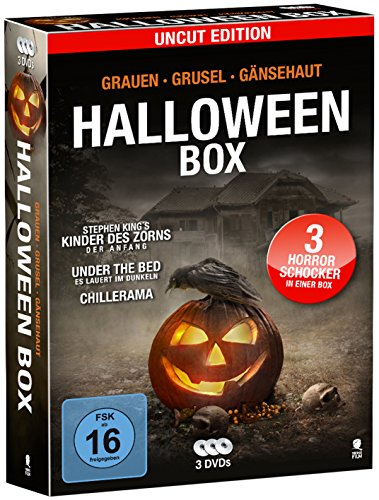 Halloween-Box (3 DVDs, Uncut Edition)