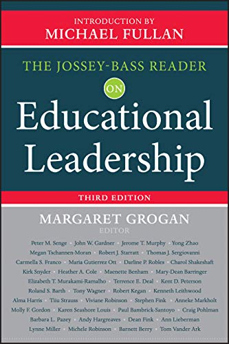 Compare Textbook Prices for The Jossey-Bass Reader on Educational Leadership 3 Edition ISBN 9781118456217 by Grogan, Margaret,Fullan, Michael