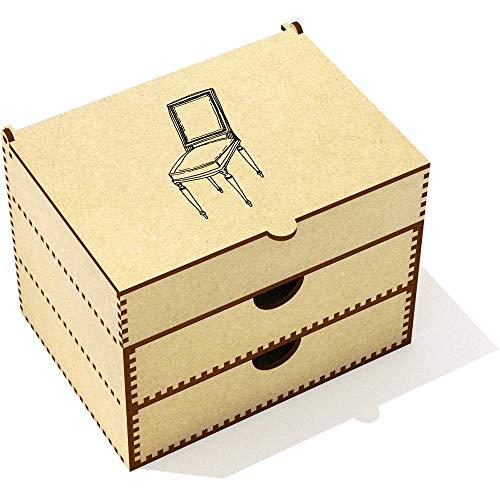 Azeeda 'Chaise Vintage' Boîte de Maquillage (VC00007014)