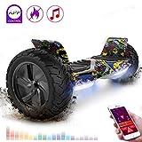 RCB Gyropode Tout Terrain Auto-équilibrant Scooter électrique Gyropode 8.5 '' Hummer Tout-Terrain construit en Bluetooth APP...