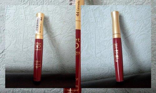 Glänzend Lip Lipgloss Effekt 3D Bourjois N ° 44Zimt UNIC NEU