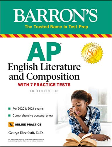 AP English Literature and Composition: With 7 Practice Tests (Barron's Test Prep)
