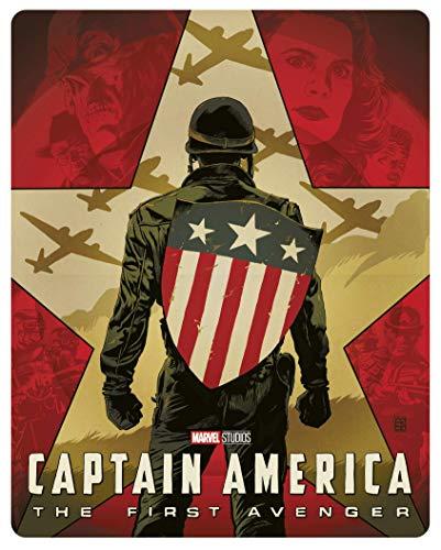 Captain America : The First Avenger [4K Ultra HD + Blu-Ray-Édition boîtier SteelBook]