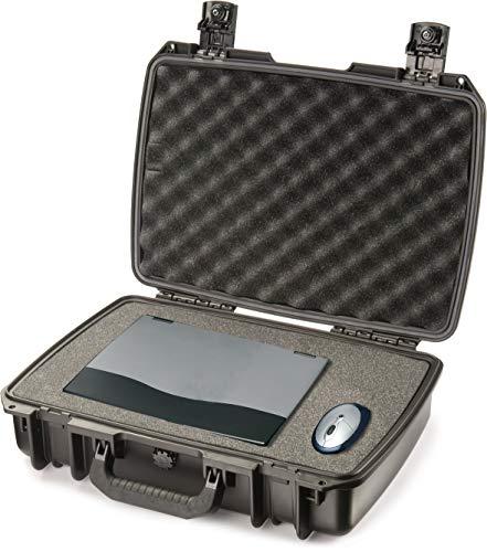PELI Storm IM2370 valise robuste pour ordinateur portable, étanche à l'eau et à la poussière, capacité de 19L, fabriquée aux États-Unis, avec insert en mousse personnalisable, couleur: noire