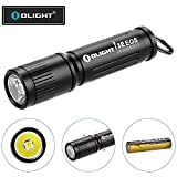 OLIGHT 90 Lumens i3E EOS PMMA TIR Lens AAA Flashlight...