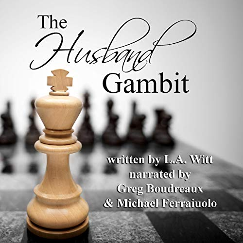 The Husband Gambit audiobook cover art