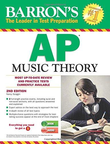 Barron's AP Music Theory with MP3 CD