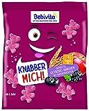 Bebivita Knabberprodukte MICH! Getreide-Bärchen mit Superfrüchten, 9er Pack (9 x 30 g)