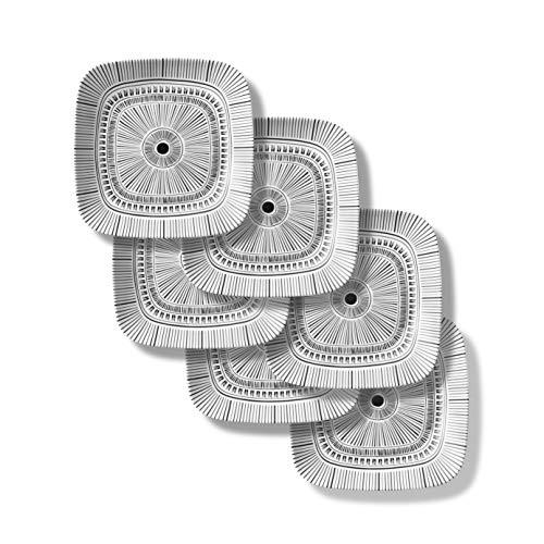 Corelle Chip Resistant Lunch Plates, 6-Piece, Imani