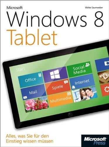 Microsoft Windows 8 Tablet: Alles, was Sie für den Einstieg wissen müssen