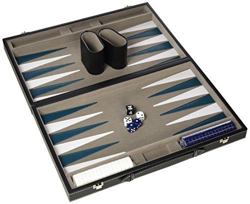Gibsons G388 - Backgammon en Caja de Piel sinttica (38 cm)