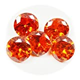Orange Cubic Zircon Loose Gemstone