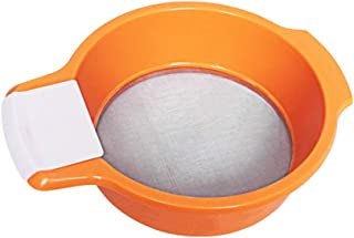 JERKKY Tamiz de harina Cocina Tamiz de harina Tamiz de harina Colador de Aceite de Acero Inoxidable Profesional Colador Herramientas para Hornear