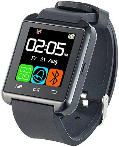 Callstel Freisprech-Smartwatch SW-100.tch mit Bluetooth 3.0 + EDR