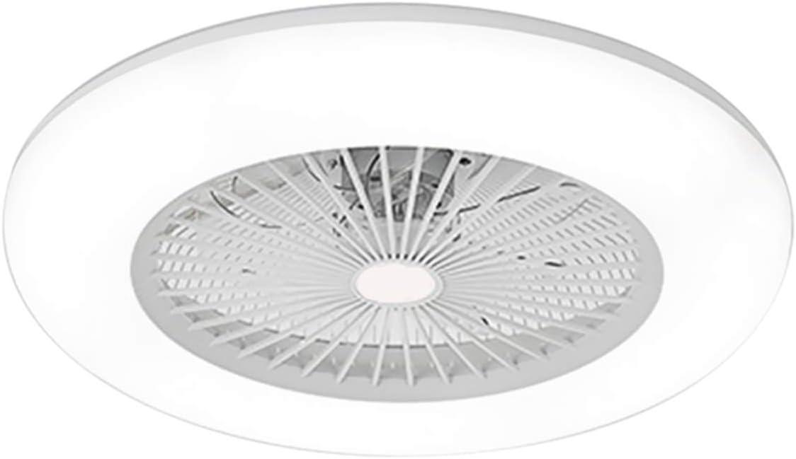 L/ámpara de Techo LED con Ventilador Ventilador de Techo con Control Remoto para Sala de Estar 3 Velocidades Ajustables y 3 Colores Claros Ajustables 200-240V 2880LM Entrega en el Almac/én Europeo