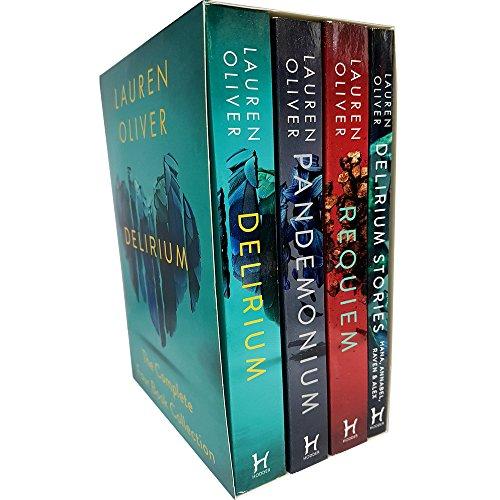 Delirium Trilogy Collection Lauren Oliver 3 Books Set (Delirium, Pandemonium,...