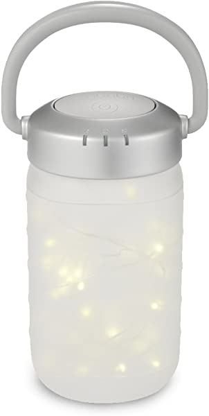 Walk A Bout Portable Nightlight Lantern Bedside Light Firefly Jar Auto Off Fairy Lamp Fun Design Soft Glow For Infants Babies Toddlers And Children MyBaby