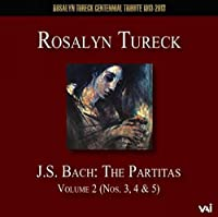 J.S.バッハ : パルティータ Vol.2 (J.S.Bach : The Partitas Volume 2 (Nos. 3 , 4 & 5) / Rosalyn Tureck) [輸入盤]