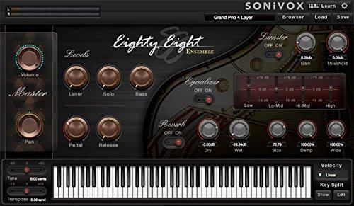 Sonivox Eighty Eight Ensemble 2.1 Grand Piano virtuelles Instrument für Musikproduktion