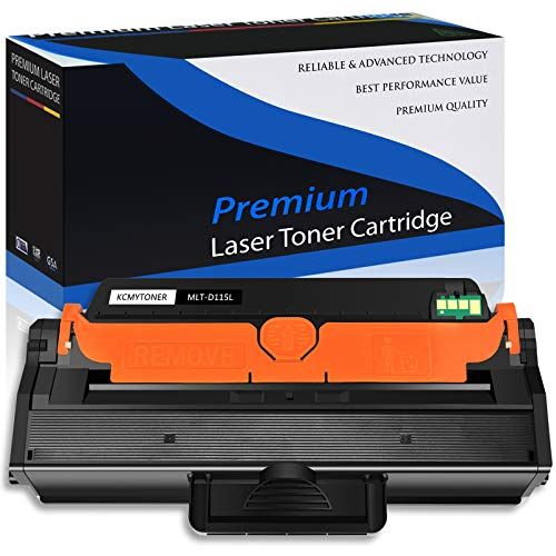 KCMYTONER 1 PK Compatible Toner Cartridge for Samsung 115L MLT-D115L MLT D115L Used for Xpress SL-M2830DW SL-M2880FW SL-M2670 SL-M2620 SL-2620ND SL-2820DW M2670FN M2670N M2870FD M2870FW Printer