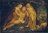 P5468 A0 Poster William Blake Lot and His Daughters –