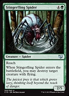 Magic: the Gathering - Stingerfling Spider (203/342) - Commander 2015
