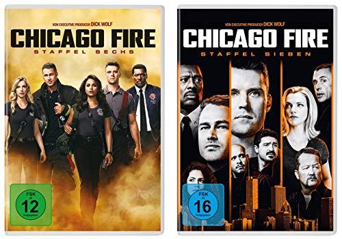 Chicago Fire - Staffel 6+7 im Set - Deutsche Originalware [12 DVDs]