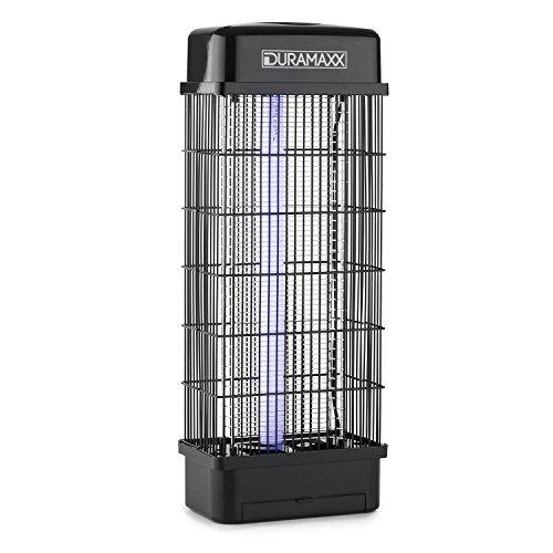 Duramaxx Mosquito Buster 5000 - Insektenvernichter, Insektenschutz, Mückenschutz, elektrisch, 15 Watt, Anlockung per UV Lampe, Hochspannungsgitter, ohne Chemie und Giftstoffe, schwarz
