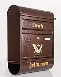 briefkasten braun 3 modelle vorgestellt briefkasten trends. Black Bedroom Furniture Sets. Home Design Ideas