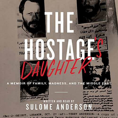 The Hostage's Daughter audiobook cover art