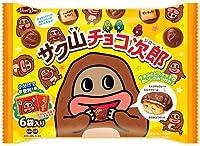 正栄デリシィ サク山チョコ次郎 ファミリーパック 102g×1袋