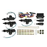 Universal Car Door Lock Keyless Entry System, KKmoon Remote Central Control Locking Kit, with Trunk Release...
