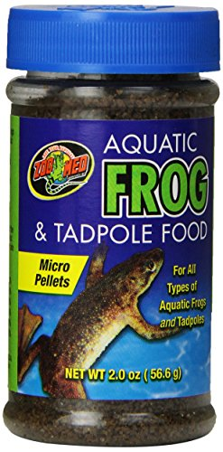 Zoo Med Wasserfrosch und Kaulquappen-Nahrung, 57 g