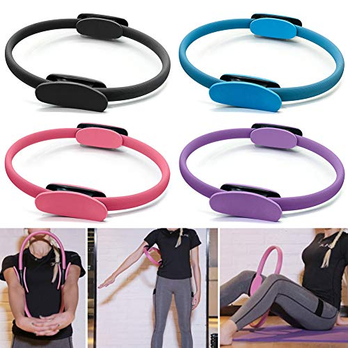 szdc88 - Pilates Ring Fitness Circle Yoga Fitness Muscle Home Gym Magic Ring Sport Resistenza Pilates Circle per le donne