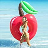 120cm Giant Red Cherry Swimming Ring Apple Pool Float 2020 New Adult Water Party Inflatable Toy Air Mattress Beach Lounger