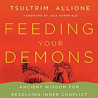 Feeding Your Demons audiobook cover art