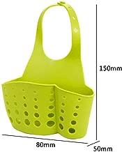 DS ENTERPRISE Kitchen Hanging Drainage Bag Shopping Cart Sink Soap Dish Holder Hanging Storage Basket Sponge Holder (Color May Vary)