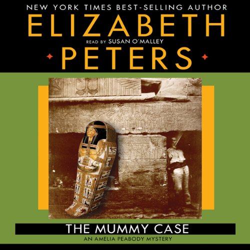 The Mummy Case audiobook cover art