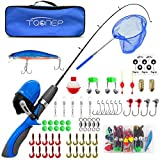 Best Fishing Pole For Kids - TQONEP Children's Fishing Rod, Kids Spincast Youth Fishing Review