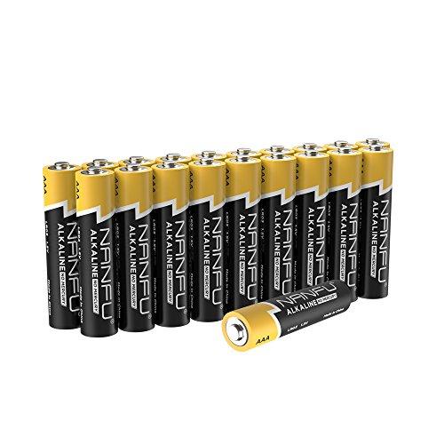 NANFU No Leakage Long Lasting AAA 36 Batteries [Ultra Power]