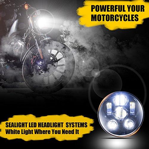 SEALIGHT LED Headlight for Harley Davidson Motorcycle