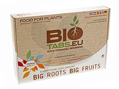 Kit Starter Box Additivo / Fertilizzanti 100% Organici BioTabs